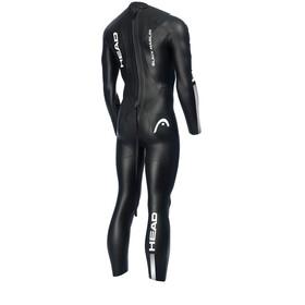 Head Black Marlin 4.3. 1,5 Tri Suit Men Black/Silver